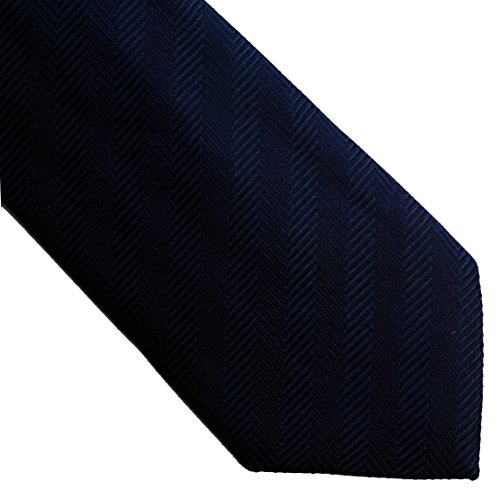04navy pure 100 neckties woven solid SO silk 0wg4qHa