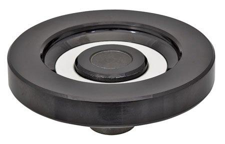 9.80'' Dia., w/o Revolving Handle, Solid, Reinforced Plastic, Elesa Hand Wheel (1 Each) by Elesa