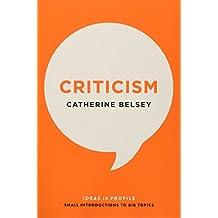 Criticism: Ideas in Profile