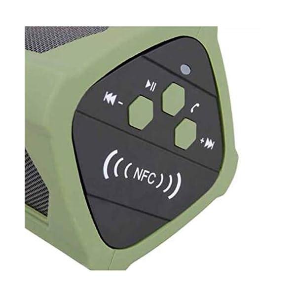 Haut-Parleur Portable Bluetooth étanche Voyage en Plein airHaut-Parleur Bluetooth Rouge 172mmx68mm 3