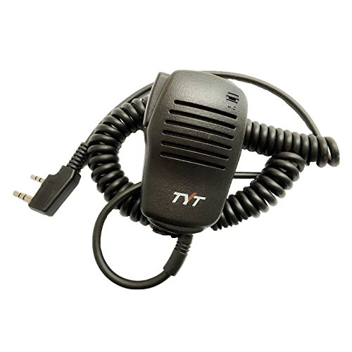 TYT walkie Talkie Original Handheld Microphone Speaker MIC for Tytera Two Way Radio TH-F8 for TH-UV8000D, TH-UV8000E, MD-380, MD-390, DM-UVF10, MD-380, MD-390 TYT Electronics Co. Ltd.
