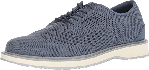 SWIMS Barry Derby Knit In Slate/White/Light Gray, Size 13 by SWIMS