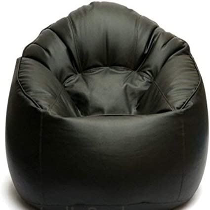 Amazon.com: Cozy Signature Bean Bag Cover Without Bean Black ...