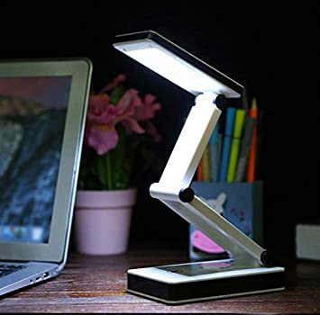 New Version Fold... TOMOL Super Bright COB LED Portable Desk Lamp Travel Lamp