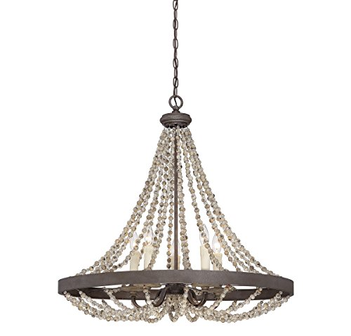Savoy House 7-7406-5-39 Mallory 5-Light Pendant in Fossil Stone