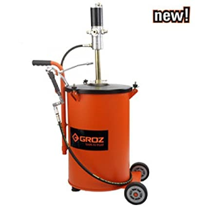 Pneumatic Grease Gun >> Groz Air Operated Grease Ratio Pump 30 Kg Amazon In