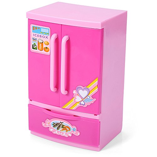 Robolife Baby Kids Educational Refrigerator Mini Fridge