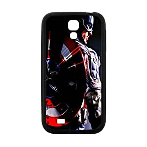 The Avengers Captain America Pose With Shield Design Hard Case Cover Protector For Samsung Galaxy S4