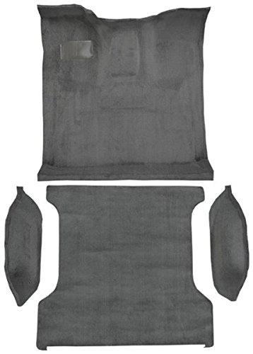1994 to 1996 Ford Bronco (Full Size) Carpet Custom Molded Replacement Kit, Complete Kit (801-Black Plush Cut Pile)