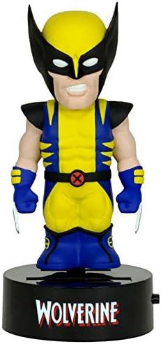 Marvel Body Knocker Wolverine Figure NEW Toys Bobble Head NECA Solar Powered