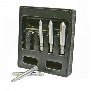 Silverline 675174 - Extractores para tornillos dañados, 5 pzas (50 mm): Amazon.es: Bricolaje y herramientas