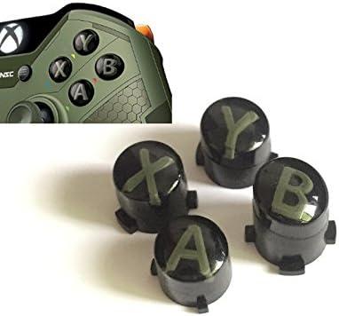 ABXY - Juego de palancas de Repuesto para Mando de Xbox One S Slim Elite, Color Verde: Amazon.es: Electrónica