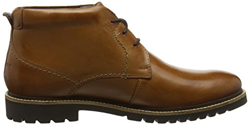 Rockport Marshall, Stivali Chukka Uomo Marrone (Cognac Leather)