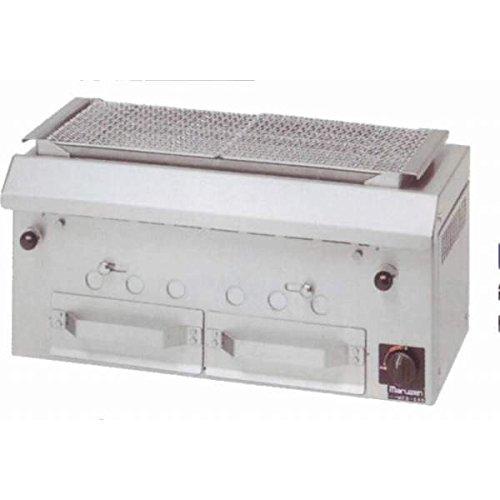 マルゼン(maruzen) 下火式焼物器 本格炭焼き (火起こしバーナー付) 兼用型 W750×D380×H350mm MCK-074   B01MR6X5QQ
