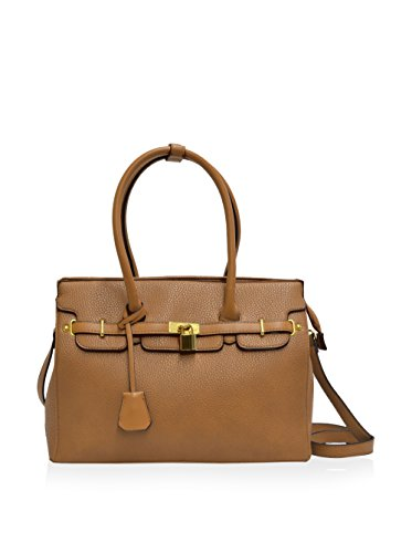 Adrienne Vittadini Pebble Grain Collection Satchel 14