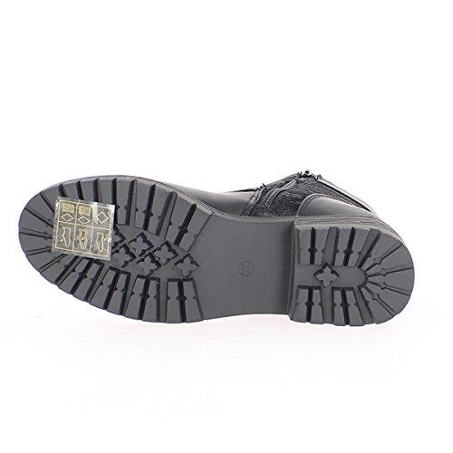 Stivali donna grigio tacco 3,5 cm e spesse suole