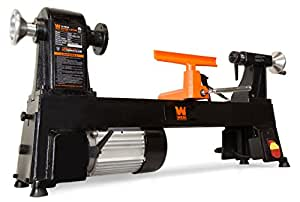 WEN 3424 4.5-Amp 12-Inch by 18-Inch 5-Speed Benchtop Wood Lathe