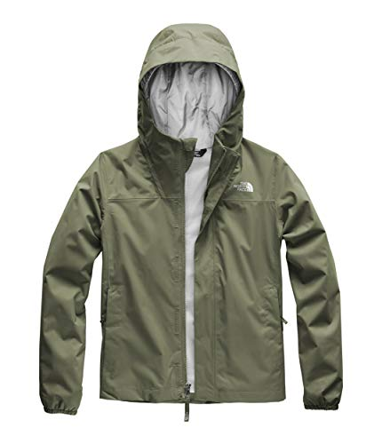 The North Face Kids Girl's Resolve Reflective Jacket (Little Kids/Big Kids) Four Leaf Clover Medium ()