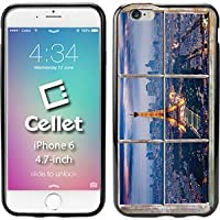 Cellet TPU / PC Proguard Case with Paris Through a Window for iPhone 6