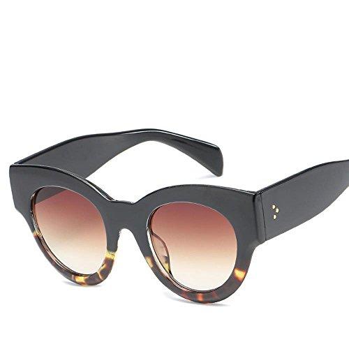 americana gato de grande de C clap señora y de moda calle sol personalidad de gafas el de de de Aoligei ojo Europea marco sol Sungla hombre gafas retros Comunidad Marea las Zpxqv