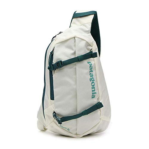 Patagonia Unisex's Atom Sling 8L Backpack, Birch White/Tidal Teal, ()