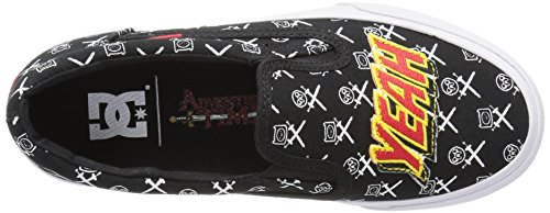 DC - - Jugend Trase Slip-On Skate-Schuhe, EUR: 30.5, Black/White/Red