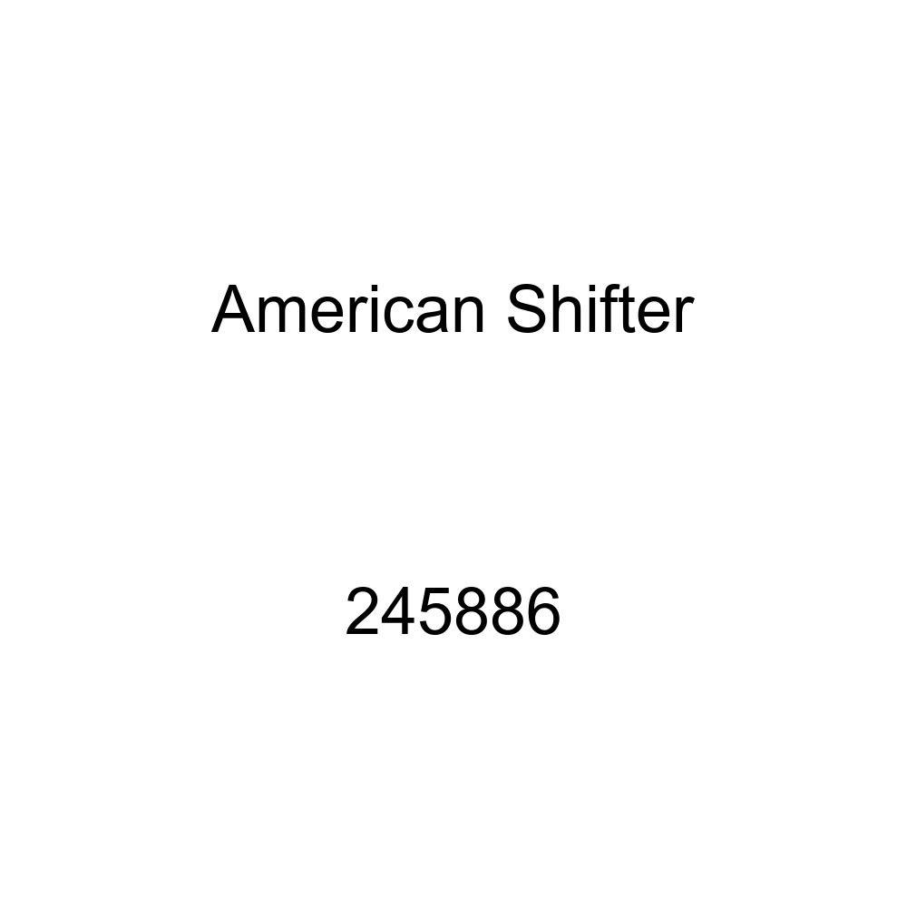 American Shifter 245886 Blue Flame Metal Flake Shift Knob with M16 x 1.5 Insert Orange Female Retarded