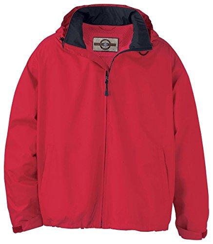 Ash City - North End 88083 Men's Techno Lite Jacket Molten Red 751 L