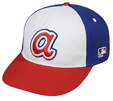7c5b912bf1156f Amazon.com: OC Sports MLB Licensed Cooperstown Adult Atlanta Braves ...
