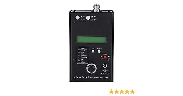 Analizador de antenas HF + VHF + UHF Analizador de antenas ...