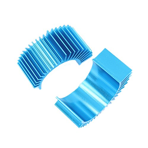 Aluminum Motor Heatsink (Hobbypark Aluminum Electric Motor Heat Sink Cooling Fins For RS540 550 540 3650 Size (Pack of 2))