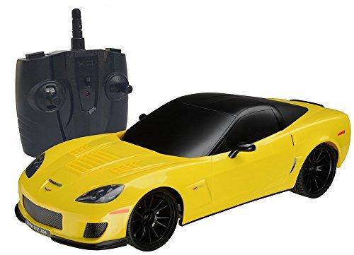 (Midea Tech 2.4Ghz 1/18 Scale Chevrolet Corvette Z06 Radio Remote Control Sport Racing Car)