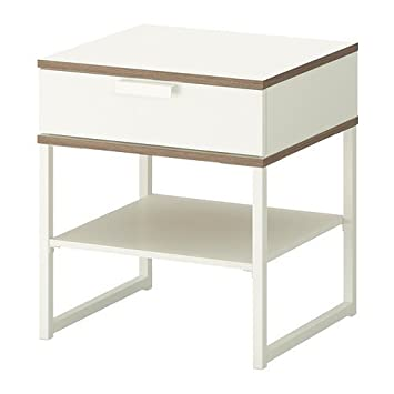Fine Ikea Trysil Bedside Table White Light Grey 45X40 Cm Download Free Architecture Designs Grimeyleaguecom