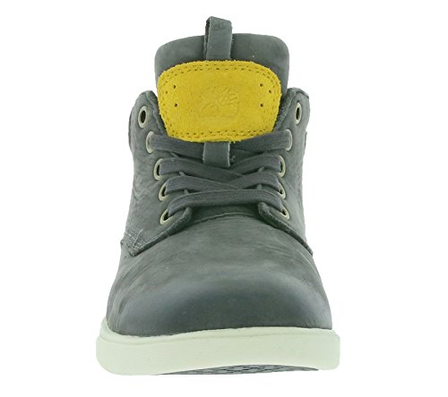 TIMBERLAND GROVETON LEATHER CHU FORGED IRON BASSA GRIGIA