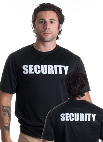 SECURITY | Moisture-wicking Performance Security Guard Officer Unisex T-shirt