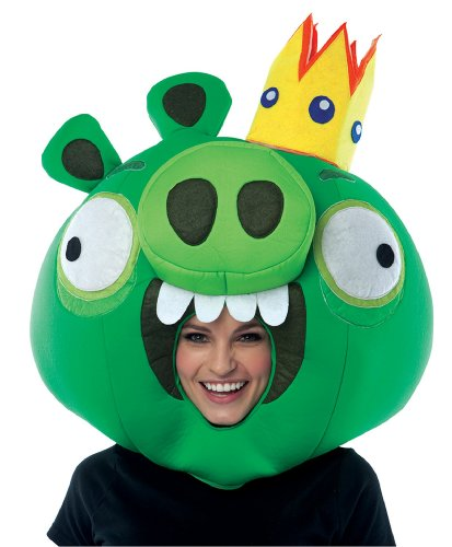 Paper Magic Group Angry Birds King Pig Green Mask (Best Female Halloween Costumes Of All Time)
