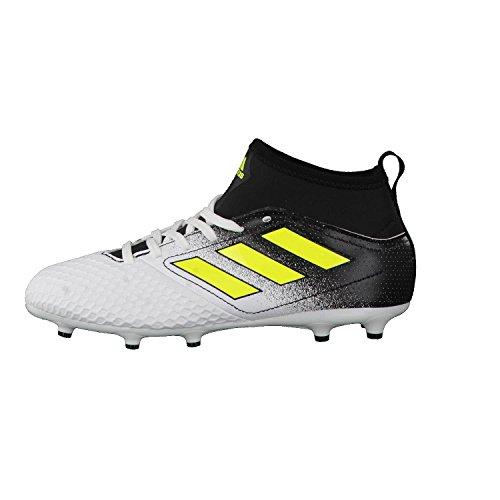 adidas Jungen Ace 17.3 FG J Fußballschuhe, Weiß Mehrfarbig (Ftwbla/Amasol/ Negbas ...