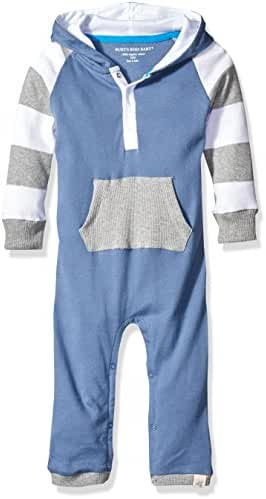Burt's Bees Baby Boys' Hooded Organic Footless Coverall