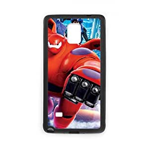 Big Hero 6 Samsung Galaxy Note 4 Cell Phone Case Black W2277216