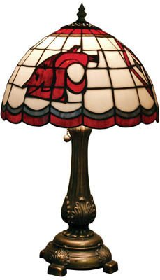 NCAA Washington State Cougars Tiffany Table Lamp by The Memory Company