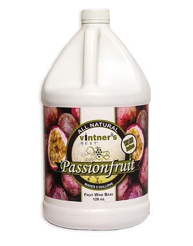 Passion Fruit Wine - Vintner's Best Passionfruit Fruit Wine Base 128 oz.