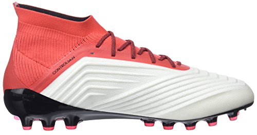 Adidas Blanc White Coral core De Football Homme Ag 1 Chaussures footwear real 18 Predator Black qvr68q
