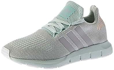 adidas WoMen's Swift Run Shoes, Vapour Green/Grey Two/Footwear White, 5.5 US (5.5 AU)
