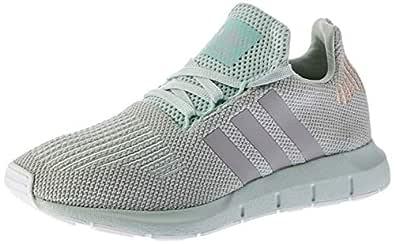 adidas Originals Swift Run Womens Knit Running Trainers Shoes Vapour Green 3.5UK