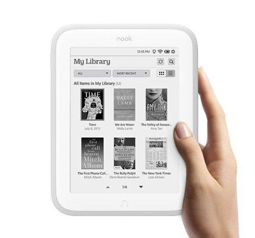 Nook GLOWLIGHT eBook Reader BNRV500 (Certified Refurbished)