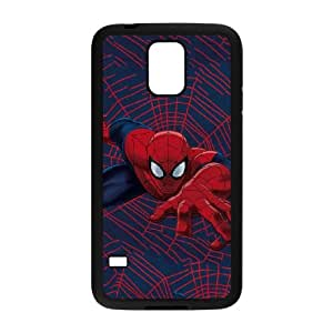 Samsung Galaxy S5 Cell Phone Case Black Spider Man Crawls GY9036840