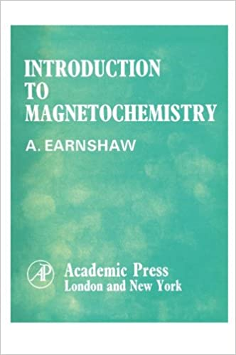 introduction to magnetochemistry alan earnshaw