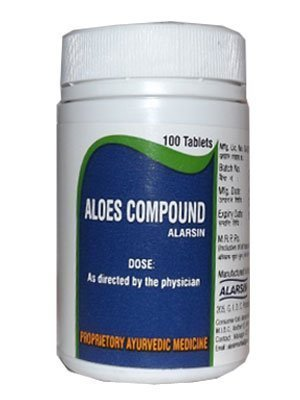 Alarsin Aloes Compound Tablets 100 ()
