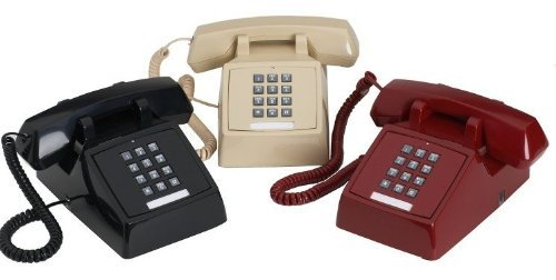 Traditional Desk Style 2500 Telephone Black by Royal
