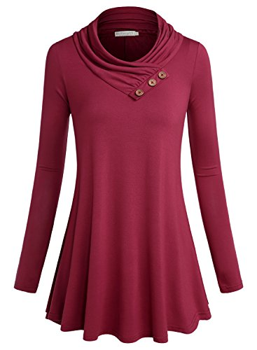 Red A-Line Top - 1